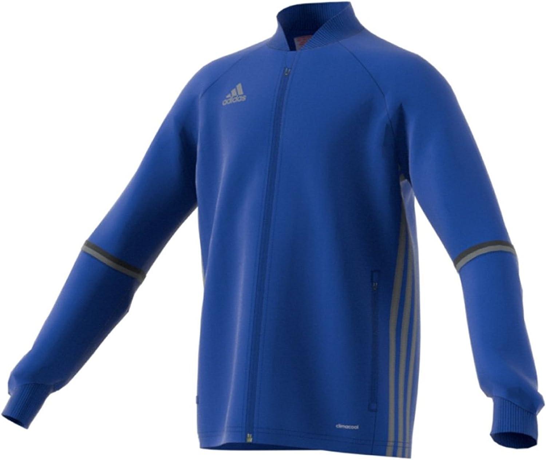 adidas Condivo Bombing new work 16 Youth Training Jacket Grey S Indefinitely Bold Vista Blue