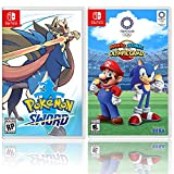 Nintendo Pokemon Sword Bundle with Mario and Sonic at the Olympic Games Tokyo 2020