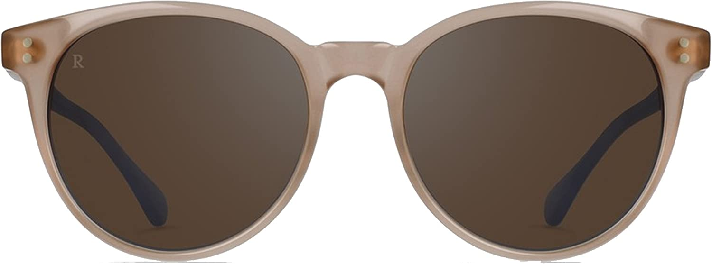 RAEN optics Norie Sunglasses pink Brown Silver Mirror, One Size