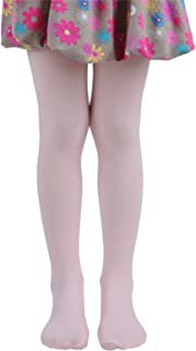Girls Semi Opaque Tights 17 Colors, Girls Microfiber Tights