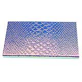 Large Empty Eyeshadow Makeup Box Magnetic Cosmetics Palette Fish Scale DIY Storage Tray Box Holder