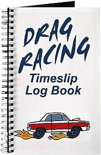 CafePress Drag Racing Timeslip Log Book Spiral Bound Journal Notebook, Personal Diary, Dot Grid