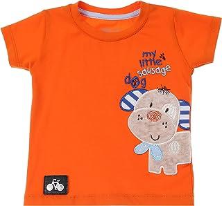 Skills Round Neck Mixed-Media Cotton T-shirt for Boys