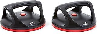 Adidas Adac-11401 Swivel Push Up Bars, Black/Red, One Size