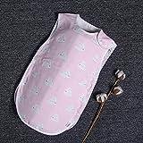 Saco de dormir para bebé SDFS para niña, saco de dormir para recién nacido, colcha para verano, manta para bebé, H, M 45x80cm