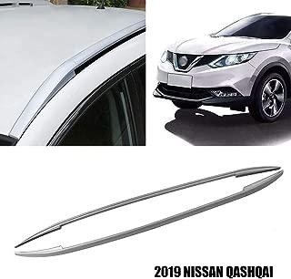 Yeeoy Roof Rack Roof Rail Side Rack Aluminium Top Roof Cargo Carrier Luggage Fit 2019 Nissan Qashqai