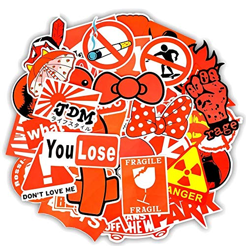 greestick stickerbomb rode sticker 50 stuks sticker