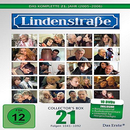 Die Lindenstraße - Das komplette 21. Jahr, Folgen 1041-1092 (Collectors Box,10 Discs)