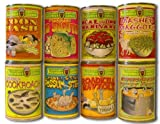 New Comic Looney Soup stick on (8 Labels) kitchen gag prank