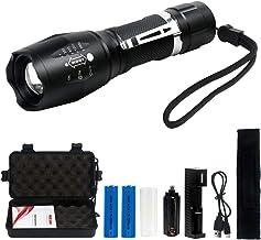 Linterna LED Recargable 2000Lumen Alta Potencia T6 de
