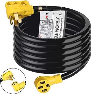 VETOMILE 30Ft 50Amp (14-50P to 14-50R) RV Extension Cord with Handle, 125V/250V for Trailer Motorhome Camper
