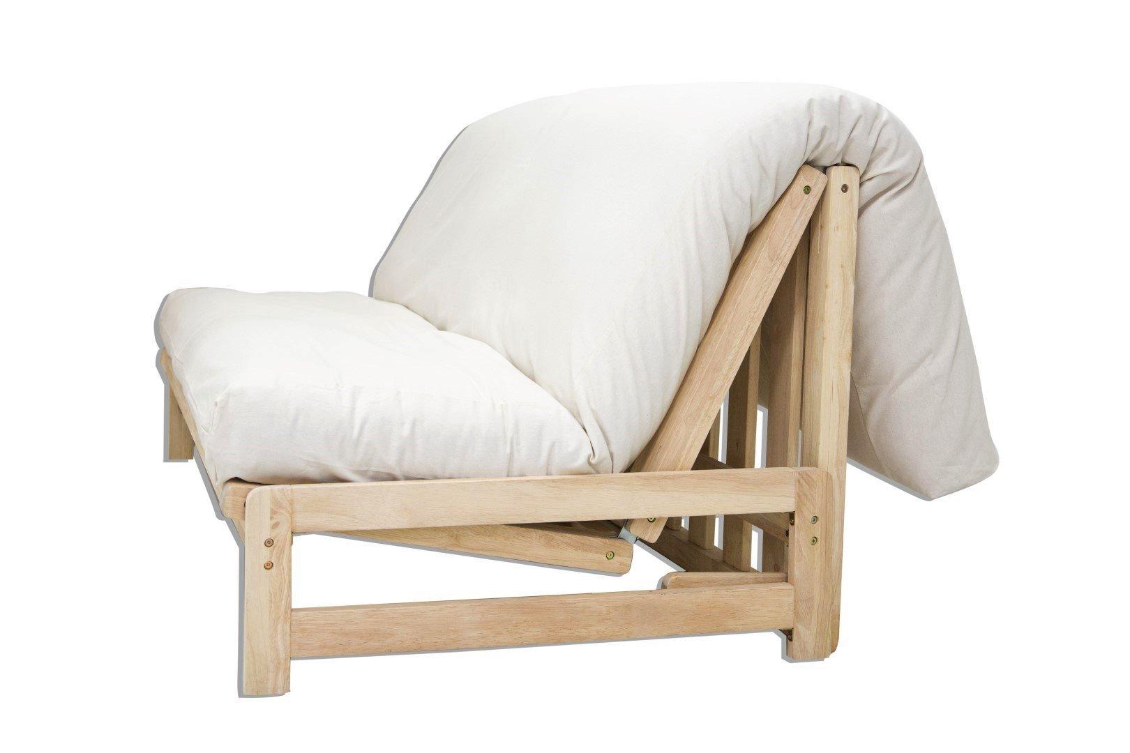 Sofá cama A-Frame , funda cruda, 200x140x30 cm: Amazon.es: Hogar