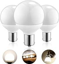 Kohree 12 Volt RV Led Light Bulbs BA15s 20-99/1141 / 1156 12V Vanity Replacement Bulbs for 5th Wheel Camper Trailer Motorhomes Marine Boat Interior Light Bulb 4000K Natural White Pack of 3