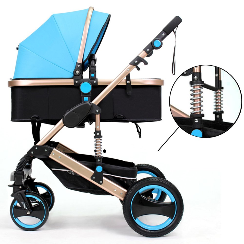 BelecooTM Foldable Anti shock Carriage Pushchair