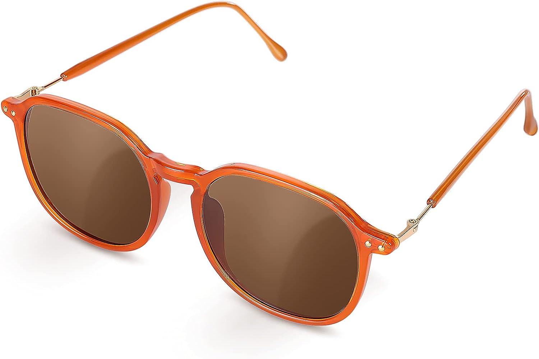 Czemo Gafas de Sol Mujer Polarizadas, Gafas de Sol de Moda Vintage, Protección UV Gafas de Sol Aviador