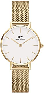 Daniel Wellington Unisex's Petite Evergold, 28mm, White