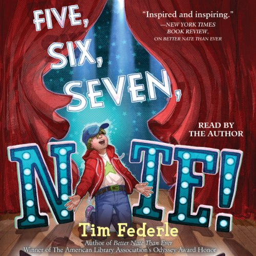 Five, Six, Seven, Nate! audiobook cover art