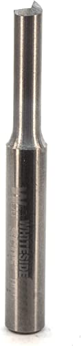 2021 Whiteside outlet sale Router Bits SC05 Standard Straight Bit with Solid Carbide 7/32-Inch Cutting outlet online sale Diameter and 3/4-Inch Cutting Length outlet sale