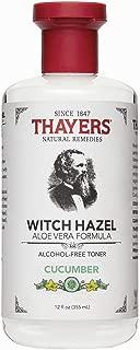 Thayer Cucumber Witch Hazel With Aloe Vera Formula, 12 Fluid Ounce (Facial Toner)