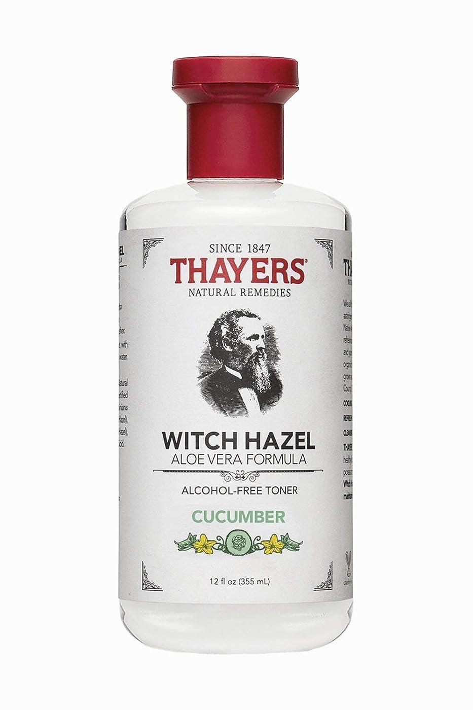 蒸発する酒関係ないThayers? Cucumber Witch Hazel Astringent with Organic Aloe Vera 355ml