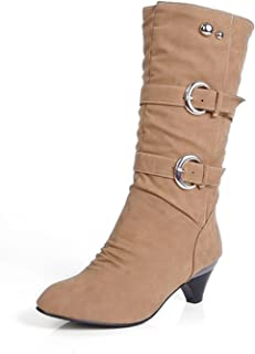 57979d6f2dc Amazon.com: MayBest - Mid-Calf / Boots: Clothing, Shoes & Jewelry