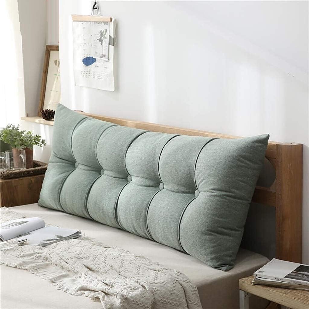 60CM Triangular Wedge Lumbar Pillow Support Cushion Backrest Bolster Headboard