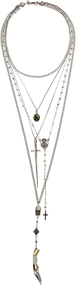 Vanessa Mooney - The Vera Layered Rosary Necklace