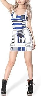 Women's Star Wars R2-D2 Stretch Cherrykeke Clubwear Pencil Skirt Dress