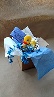 Bar Bat Mitzvah Greeting Card Gift Box SPEC-QUACK-ULAR Yellow Rubber Duck Present Package Direct Ships to Family Friends