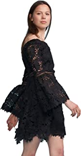 Cynthia Rowley Women's Off Shoulder Lace Dress
