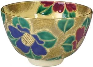 KIYOMIZU Ware Matcha Bowl (Wooden Box) NINSEI TSUBAKI - Camellia