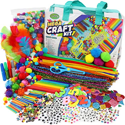 Mega Craft Kit for Kids - Arts &...