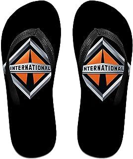 In-Ternational Tr-Ucks Logo Pantoufles Tongs Antidérapantes Pour Hommes Tongs De Plage