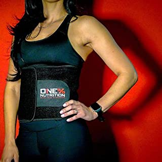 Phat Wrap by One% Nutrition - Premium Waist Trimmer,  Increase Sweat Production and Support Fat Loss
