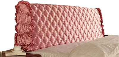 Headboard Cover Head Slipcover Protector Stretch Headboard Cover Velvet All-Inclusive Cover Bedside Protector Dustproof Backrest Decoration (Color : B, Size : 180X60X30CM)