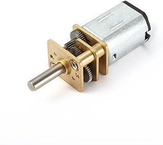 sourcingmap DC 6V 500RPM Motor de reducción de velocidad Micro Motorreductor eléctrico