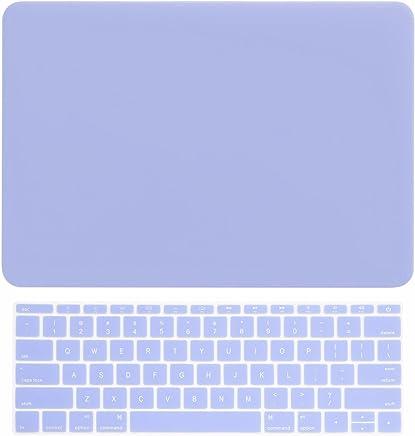 """顶盒 - 2 合 1 套优惠纯色橡胶硬壳 + 键盘保护套适用于苹果 MacBook 12"""" Retina 带 TOP CASE 鼠标垫 Macbook 12"""" Retina"""