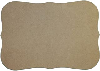MPI MDF Plaque, 7.5 by 10.5-Inch, Roman