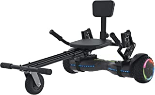 Jetson Extreme Terrain Z12 Hoverboard and JetKart Combo, Max Speed Up to 10 MPH, Travel Up to 12 Miles, 250 LBS Weight Lim...