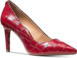 Michael Michael Kors Dorothy Croc Embossed Leather Flex Pump