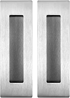 Flush Pull Barn Door Handle (2 Pack) 6