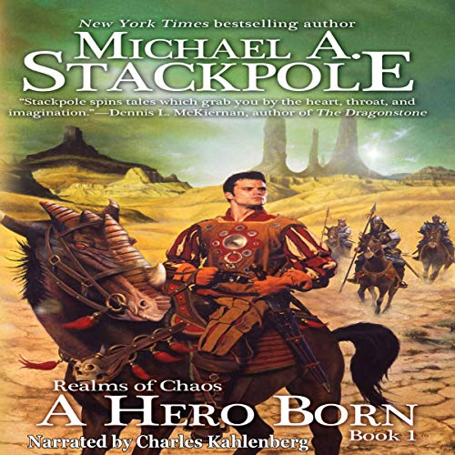 A Hero Born audiobook cover art