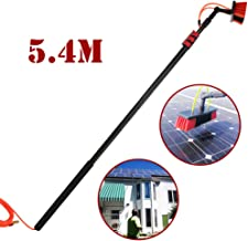 JSZMQD 3.6M-9M Carbon Fiber Telescopic Rod, Window Clean Washing Set Equipment Telescopic Extension Pole Cleaning Suitable...