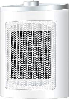 LRXG Calefactor, Mini Cerámica Calefacción Eléctrica Seguro y Ahorro de Energía Escritorio de Invierno Oficina en Casa Baño R06
