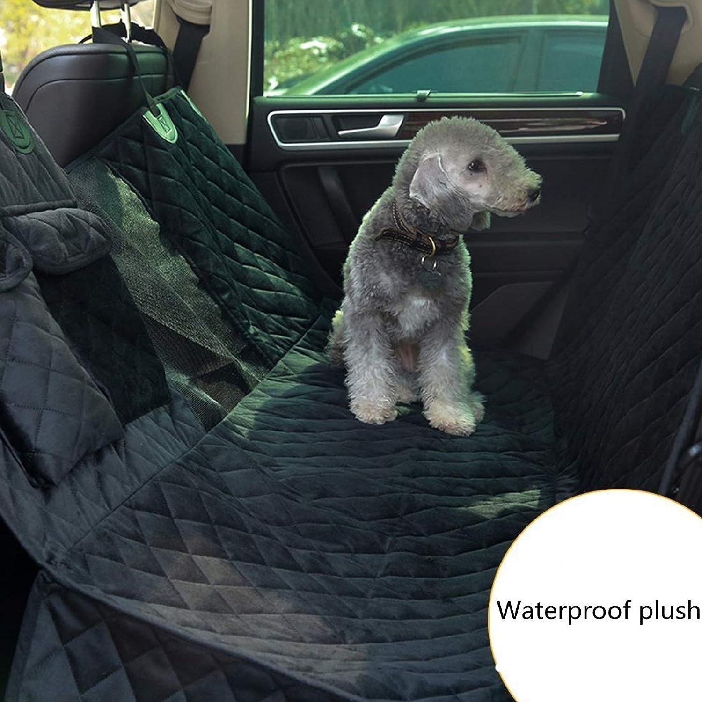 JINHONGH Dog Car Seat Cover,Car Seat Mat For Dog Waterproof Dog Hammock Back Seat Predector For Car SUV Truck Outdoor Travel (color   Black, Size   137X147cm)