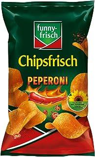 funny-frisch Chipsfrisch Peperoni, 10er Pack 10 x 175 g