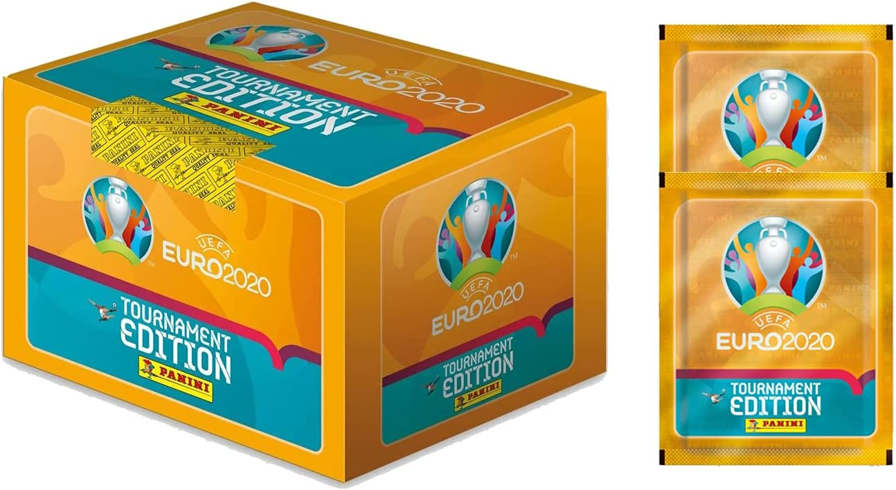 2020 Panini Euro Tournament Edition New product type Stickers Direct store - 2 + Box 100-Pack