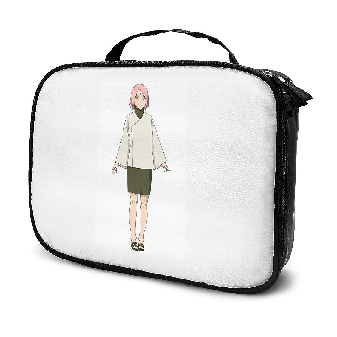 ファックス基準拡散するDaitu春野さくら 化粧品袋の女性旅行バッグ収納大容量防水アクセサリー旅行