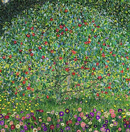 Berkin Arts Gustav Klimt Giclée Leinwand Prints Gemälde Poster Reproduktion(Apfelbaum)