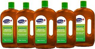 Cosmo Anti-Bacterial Antiseptics & Disinfectants Liquid - 750ML PACK OF 5